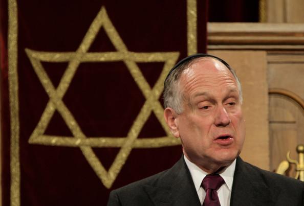 """Πρόεδρος του Παγκόσμιου Εβραϊκού Συνεδρίου..''Σας παρακαλώ να τεθεί εκτός νόμου η Χρυσή Αυγή""""...Άντε τώρα...για ύπνο..."""