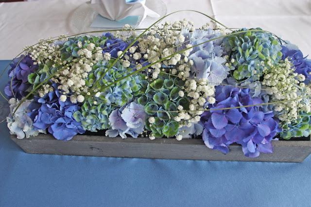 Shades of Blue Centerpiece Passiflori Penzberg