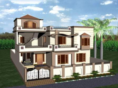 3d View Of Architechural Design Home Ritewall Lolz