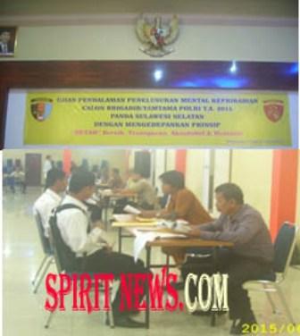 Casis Bintara Usai Tes Wawancara dan DPCT
