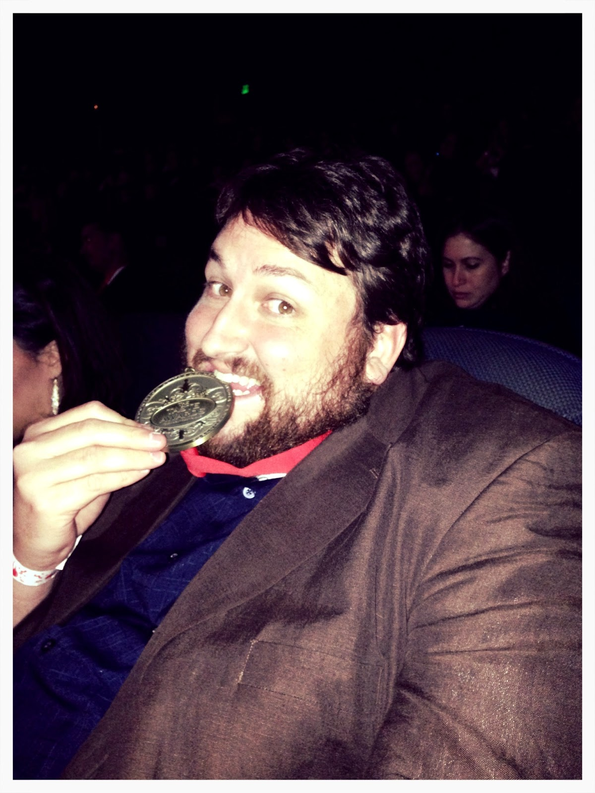 Jay Ducote with the Taste Award