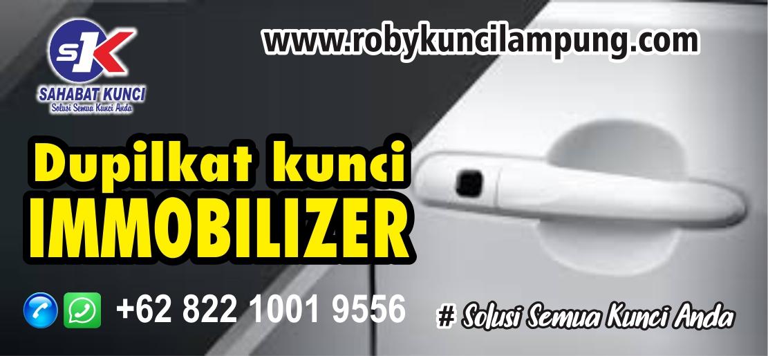 Duplikat Kunci Mobil Immobilizer Lampung