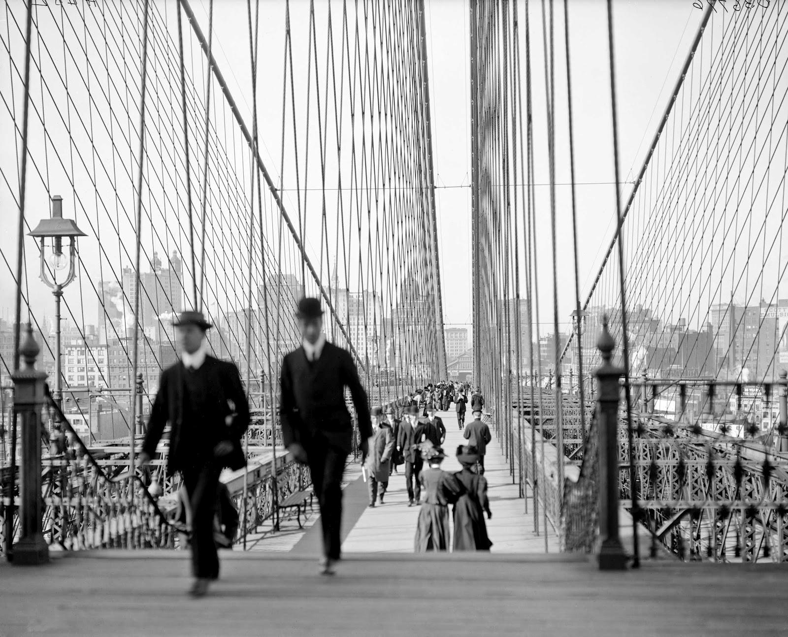 Brooklyn bridge new york 1905 1920