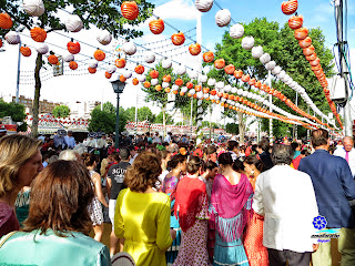 Feria de Sevilla 2014 La bulla