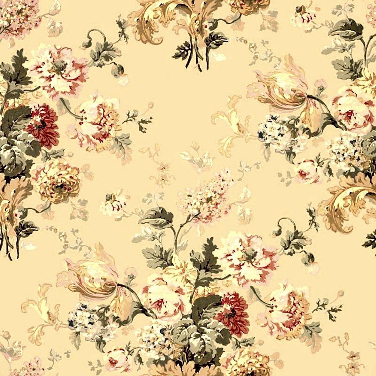 Twitter backgrounds vintage floral