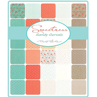 Moda Sweetness Fabric by Sandy Gervais for Moda Fabrics