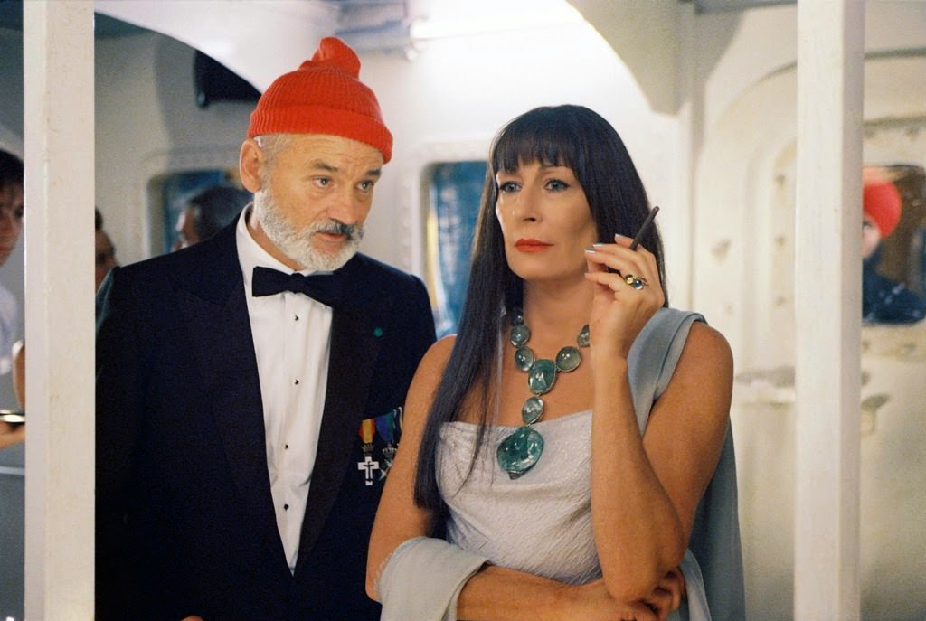 the life aquatic with steve zissou bill murray anjelica huston