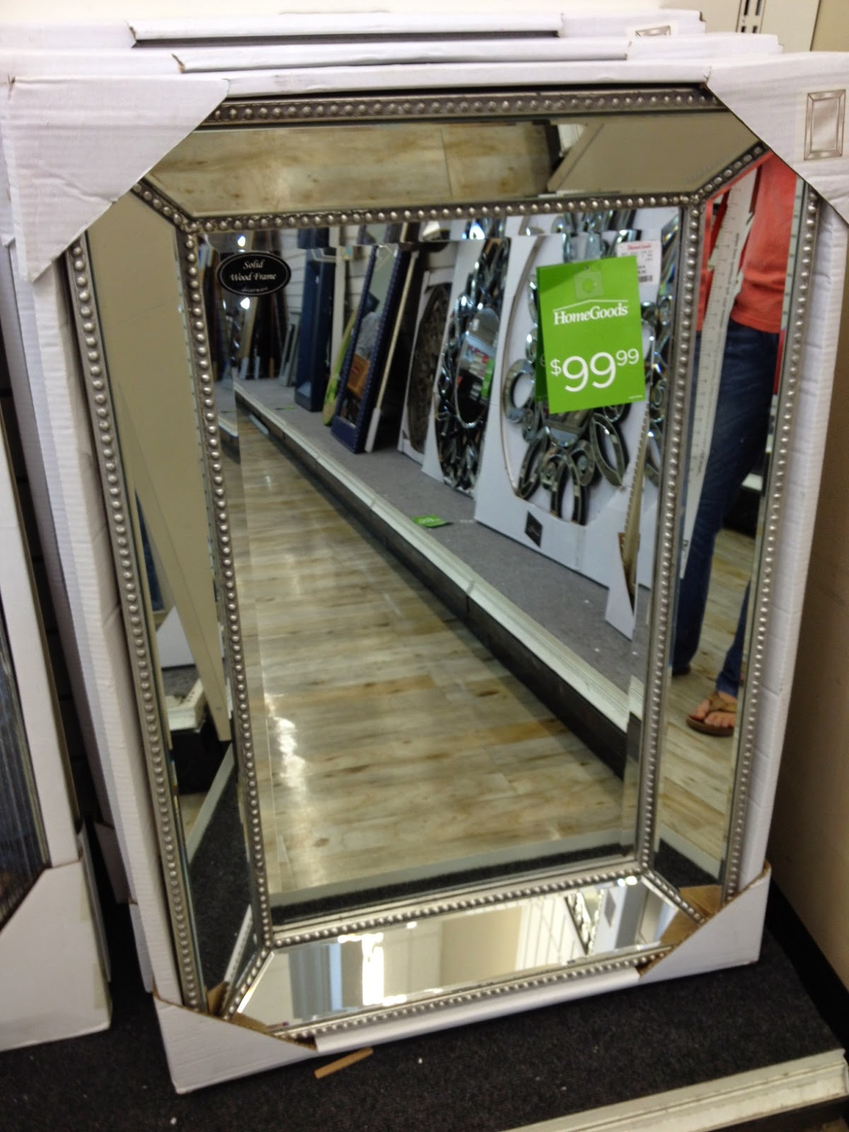 Mirrors I found at Home Goods for Master Bath  The Bakers Bluff October 2014