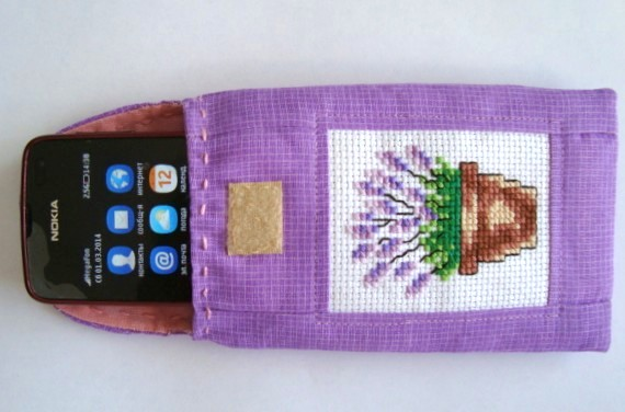чехол для телефона из  ткани