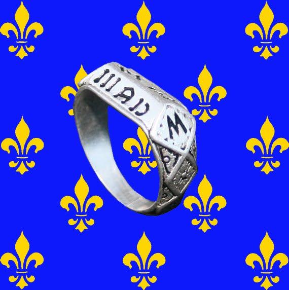 Anneau de Sainte Jeanne d'Arc