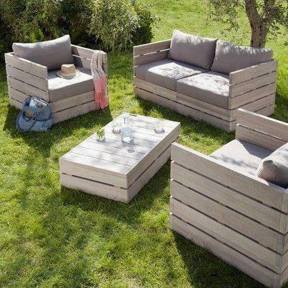 The Art Of Up-Cycling: DIY Outdoor Furniture Ideas,Upcycled Out ...