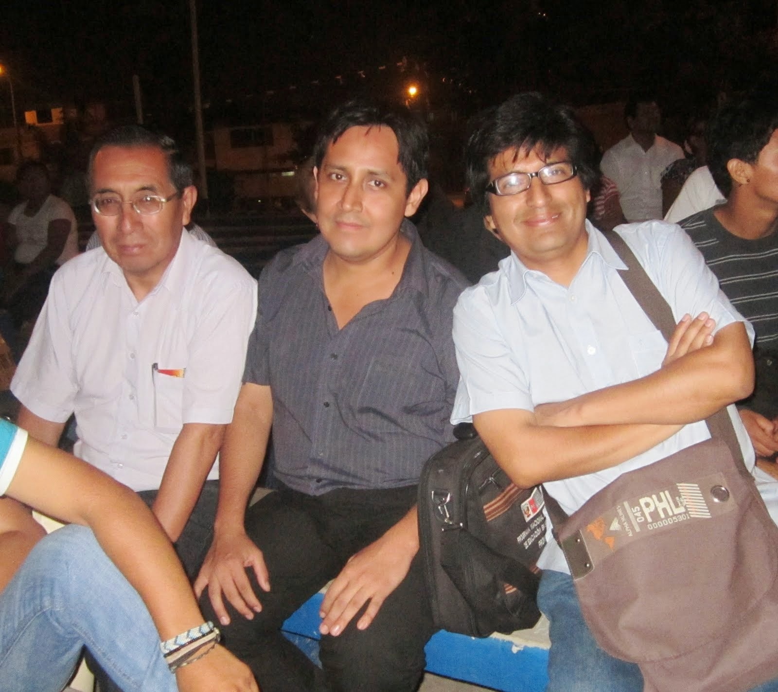 Claver Narro, Carlos Mejía y Juan Carlos Durán