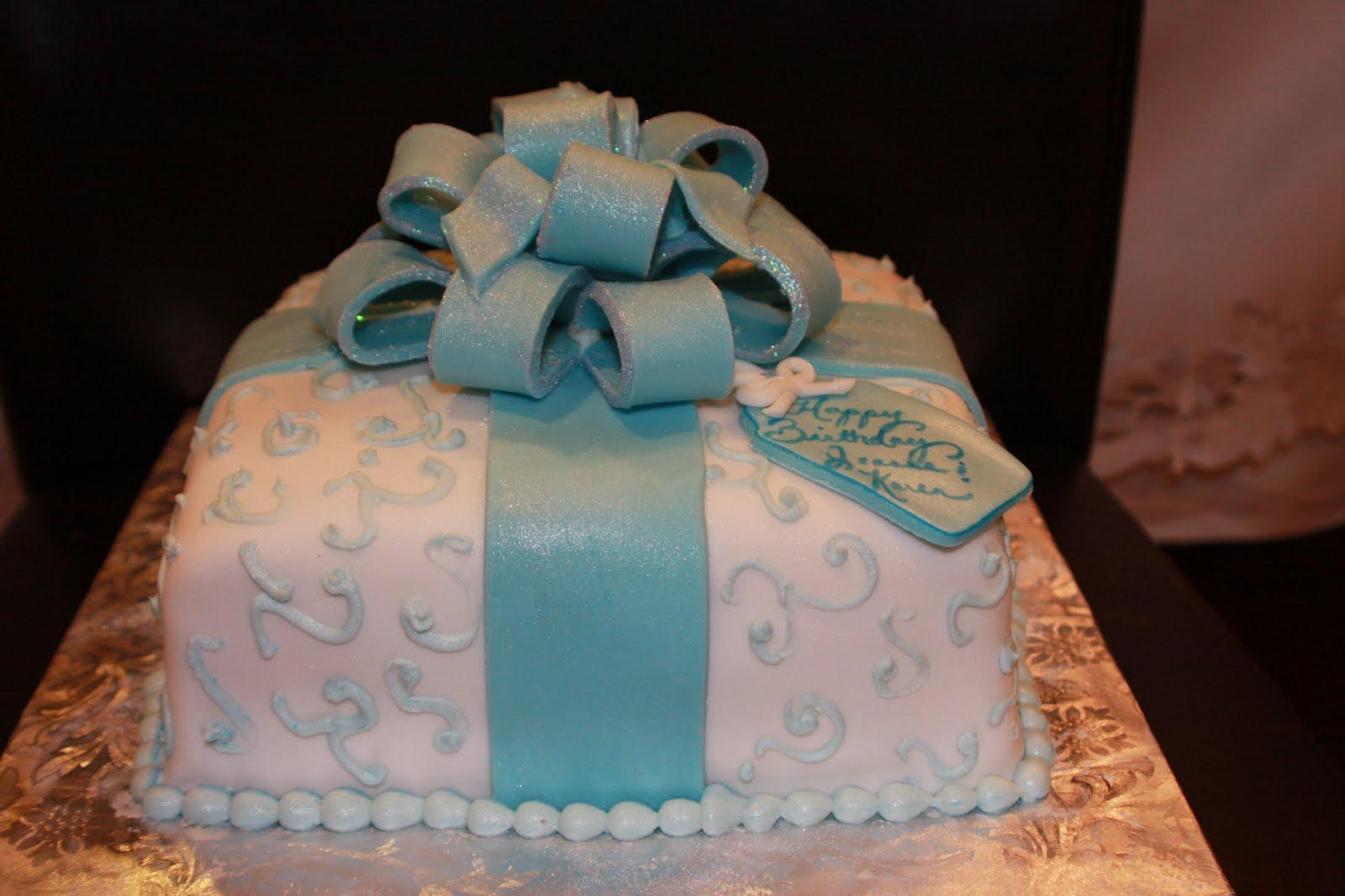Kels Cake Creations Birthday Present Cake