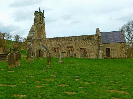 Wharram Percy, DMV, deserted villages, England, visit Yorkshire