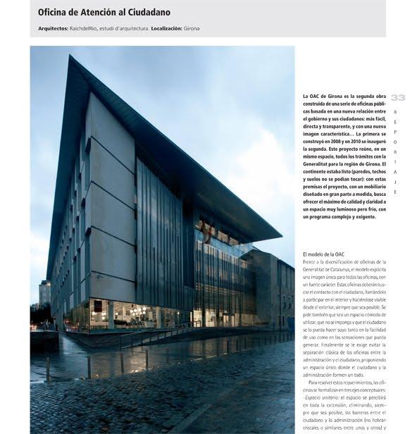 Raichdelrio oac girona published in oficinas and ait magazine for Oficina de extranjeria girona