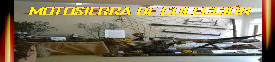 MOTOSIERRA DE COLECCION