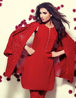 Ethnic luxury pret eid 2015 dress collection