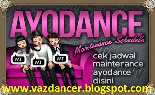 Jadwal Maintenance AyoDance Bulan September 2014