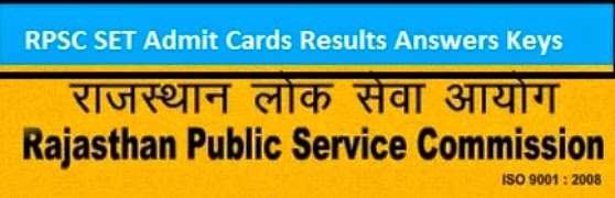 admit cards download online of rpsc