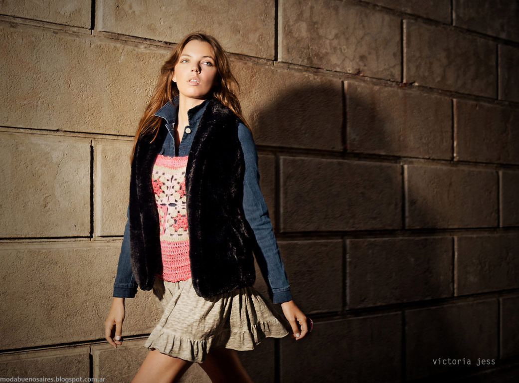 Victoria Jess chalecos otoño invierno 2015. Moda otoño invierno 2015.
