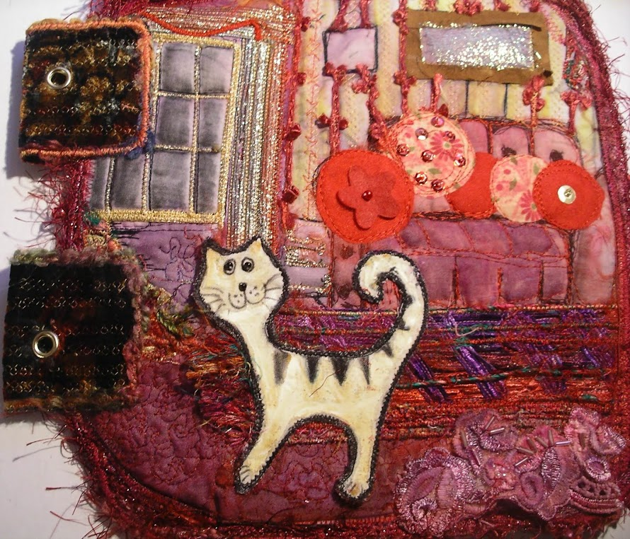Cats Fabric book