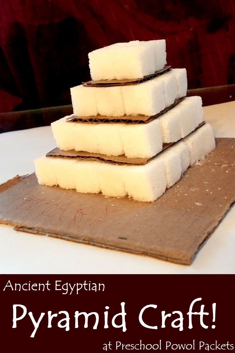 Ancient egyptian pyramids craft preschool powol packets ancient egyptian pyramids craft forumfinder Images