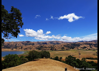 Calaveras Res., north of San Jose, CA - by B. E. Simmons