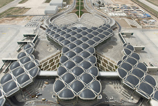 The new passenger terminal at Queen Alia International Airport, Jordan