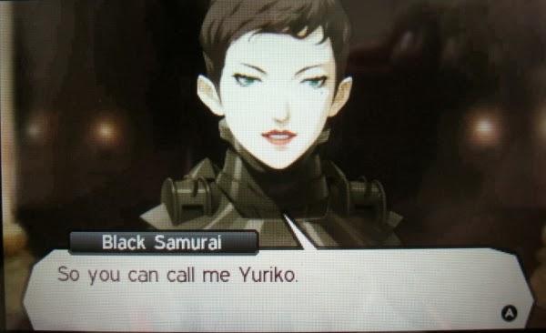 Yuriko aka the Black Samurai