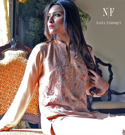 Nadia Farooqui formal dress for women