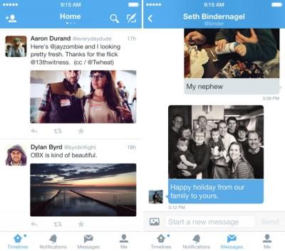Twitter Untuk iOS Diperbarui Dengan Desain Baru