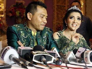 kemeriahan perkawinan Anang-Ashanty