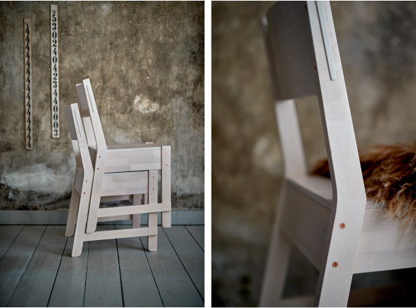 Sedia serie NORRAKER Ikea