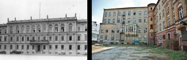 """威廉大街(德语:Wilhelmstraße)是德国首都柏林市中心的一条街道[1],从19世纪中叶到1945年,这里一直是行政中心,先是普鲁士王国,然后是统一的德国,帝国总理府和德国外交部。因此,""""威廉大街""""在德国常用来代表德国政府,如同""""白厅""""经常被用来代表英国政府;在英语中,威廉大街通常代表德国外交部。[2]  威廉大街的路线,从菩提树下大街向南略微偏东,直到Hallesches Ufer附近的 Stresemannstrasse路口,长约2公里。交汇道路有 Behrenstrasse、莱比锡大街和Zimmerstrasse,威廉大街以西名为Niederkirchnerstrasse(二战前称为阿布雷契亲王大街)。  这条街形成于18世纪初,称为骠骑兵大街(Husarenstraße),1740年和东侧的平行道路腓特烈大街一起改为今天的名字,以纪念发展这一地区的腓特烈·威廉一世。  威廉大街原本是一个富裕的住宅街,有许多宫殿属于普鲁士王室成员,从十九世纪中叶发展成为一个政府区。1875年,帝国总理府建于威廉大街77号。魏玛共和国(1919年至33年)时期,总统官邸设在威廉大街73号。1933年1月30日,兴登堡总统在阳台上,观看晚上纳粹上台的火炬游行。  1938至1939年,阿尔贝特·施佩尔为希特勒修建了一个新的帝国总理府,紧邻老总理府以南,在威廉大街和沃斯大街转角处,正式地址是沃斯大街4号,但是希特勒从面向威廉大街的阳台接见群众。对面的广场被称为威廉广场,已经不再存在。皇宫酒店也已消失,几个门牌以外,是希特勒上台前的柏林住所。  在纳粹统治时期,德国外交部位于前帝国总统府,威廉大街73号,纳粹外交部长约阿希姆·冯·里宾特洛甫将旧建筑改建为浮夸风格。财政部设在威廉大街61号。在纳粹时期,约瑟夫·戈培尔的宣传部设在更南面的威廉大街8-9号。农业部设在威廉大街72号,这是今天仍然设在战前地址的唯一德国政府部门,虽然已经经过重建。英国大使馆设在威廉大街70号。原来的建筑毁于轰炸,新的使馆在德国统一后重建于原址。2000年7月,英国女王伊丽莎白二世主持了盛大的开放典礼。  威廉大街上唯一幸存的纳粹时代主要公共建筑是81-85号(莱比锡大街以南)帝国空军部大楼,这是一座巨大的大厦,根据赫尔曼·戈林的命令,兴建于1933年和1936年之间。这座建筑逃脱了战争的破坏,为柏林中区为数不多的完整的政府建筑物,1949年用作新成立的德意志民主共和国部长会议。也是1953年6月17日工人起义期间民众示威的中心。  除了空军部,威廉大街上所有主要的公共建筑都毁于1944年和1945年年初的盟军轰炸。威廉大街南至Zimmerstrasse是在苏联占领区内,除了从街上清除瓦砾,很少进行重建,直至1949年德意志民主共和国成立。  共产党的东德政权视为前政府大厦为普鲁士和纳粹军国主义和帝国主义遗迹,20世纪50年代初拆除了所有政府建筑物废墟。在1950年代末期,从菩提树下大街到莱比锡大街的威廉大街,几乎没有任何建筑物。1980年代,沿街修建公寓大楼。  从1964年到1991年,当时的街道南至Zimmerstraße是在德意志民主共和国境内,这一段称为奥托- Grotewohl大街,得名于1949至1964年的东德总理奥托Grotewohl。  今天,威廉大街是一个重要的交通大动脉,但还没有恢复从前的地位。空军部大楼今天用作德国财政部。此外,农业部和英国大使馆是街上唯一的公共建筑。许多住户的公寓楼是新移民,也有一些商店和餐馆迎合俄罗斯和土耳其人。  在最近几年里,柏林市沿威廉大街设立一系列的历史标记,显示战前著名建筑物的位置。"""