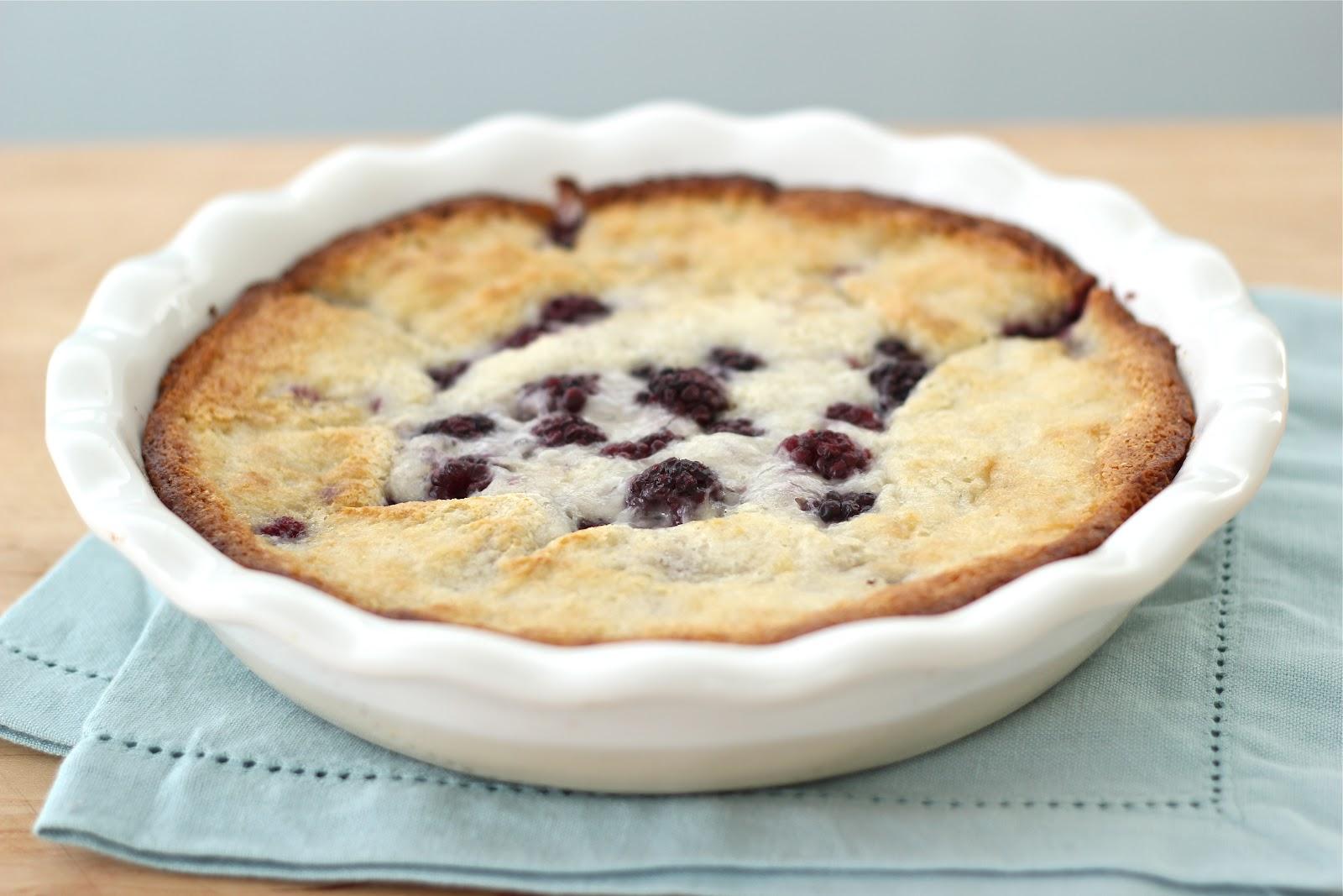 ... Steffens Hobick: Mrs. Ross's Blackberry Cobbler | Baking with Emma