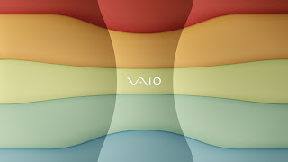 Vaio Rainbow wallpaper