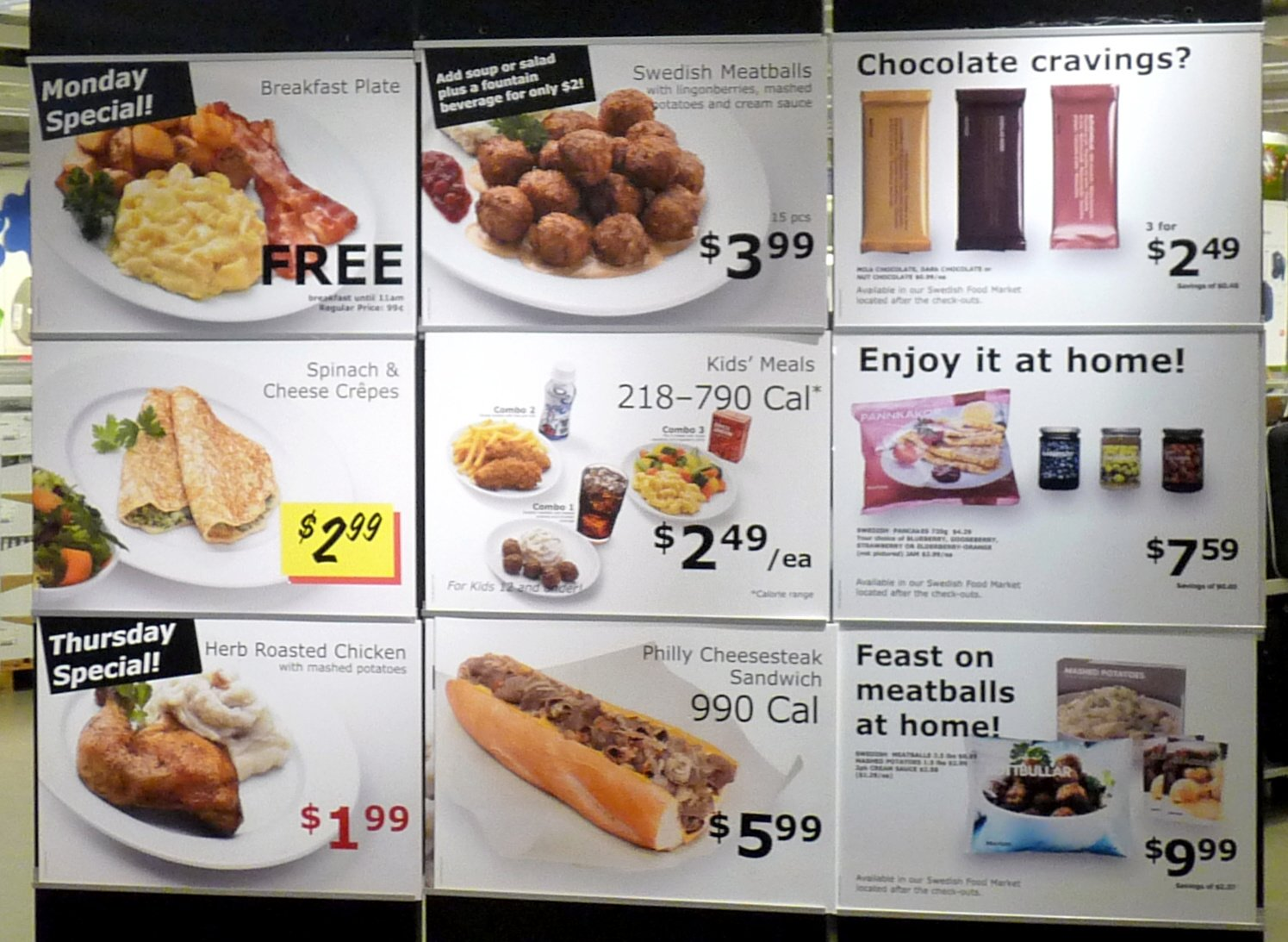 ikea restaurant menu images galleries