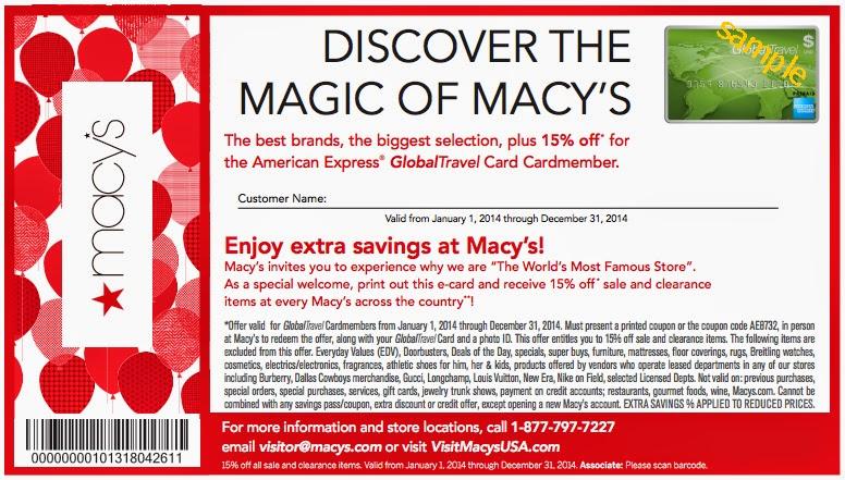 Macy's card coupons printable