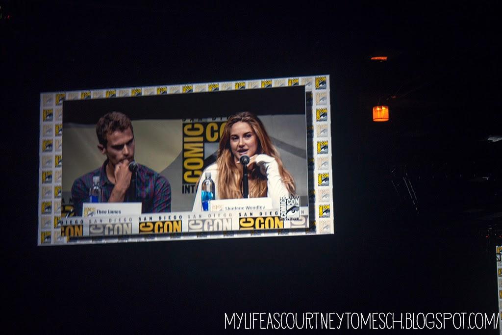 San Diego Comic Con 2013 Divergent