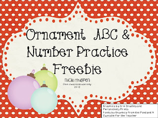 http://www.teacherspayteachers.com/Product/Holiday-Alphabet-Ordering-437210