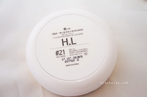 w.lab honey beam korean cushion review