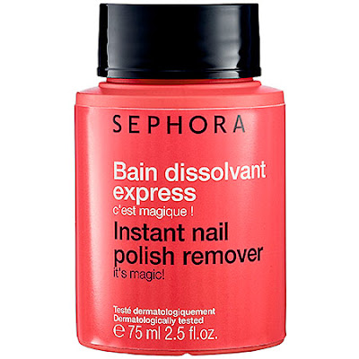 Sephora, Sephora Collection Instant Nail Polish Remover, nails, manicure, nail lacquer, nail varnish, the best travel beauty products