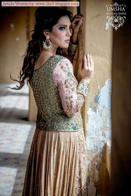 Bridal Winter Collection by Uzma Baba