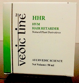 Vedic Line Hair Retarder Cream Cardboard packing