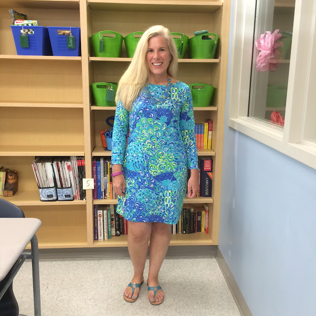 lilly pulitzer marlowe dress teacher blogger