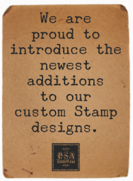 NEW Address Stamp Styles for 2014!