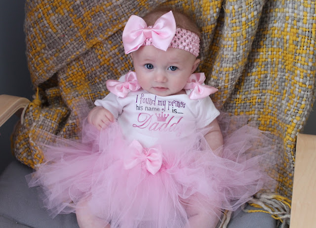baby in pink tutu outfit for race for life