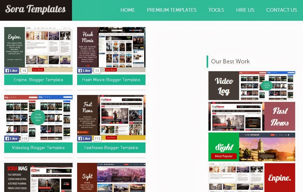 Thiết kế blog đẹp