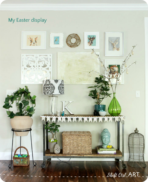 Easter Display Ideas: Spring Fling Linky Party Recap