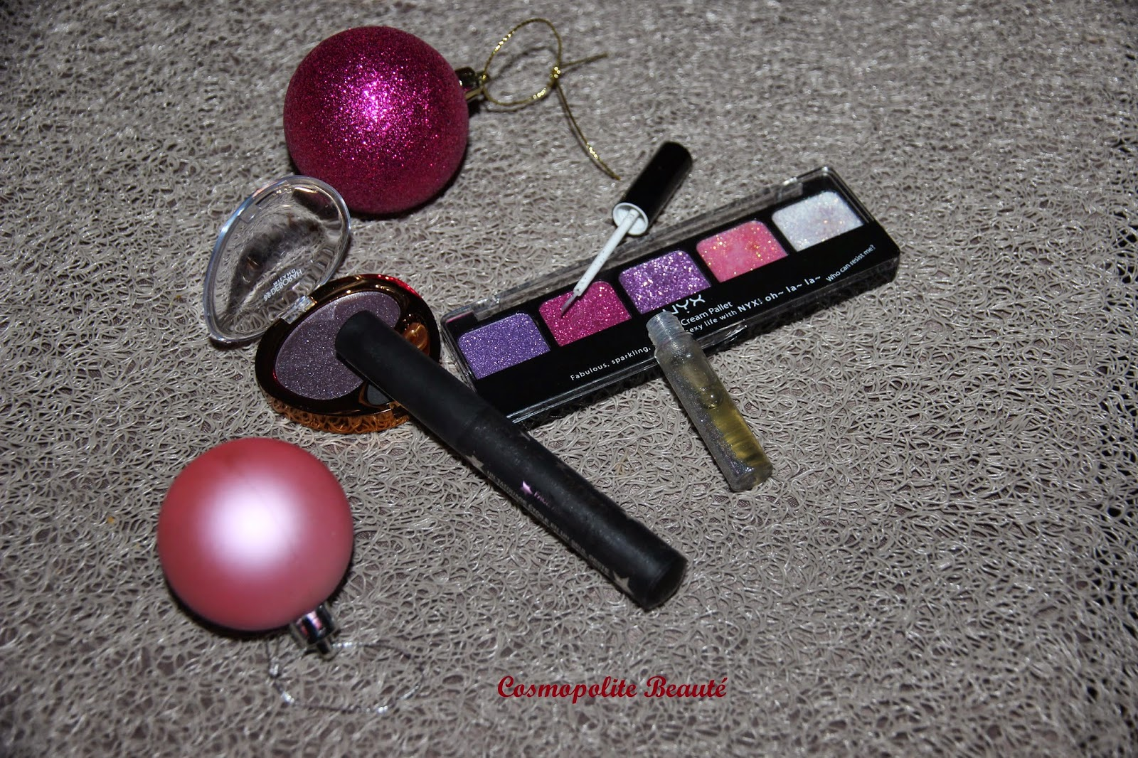 maquillage des fêtes, palette nyx